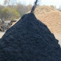 Black Colored Mulch