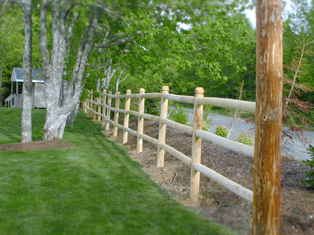 Post Amp Rail Fencing Nova Tree