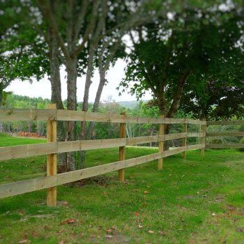 Post & Rail Fencing – Nova Tree